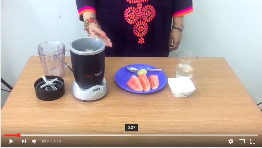 Must Try Watermelon Juice - Texet Nutriblender