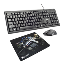 Load image into Gallery viewer, Texet Keyboard, Mouse & Mouse Pad Combo - TEXET