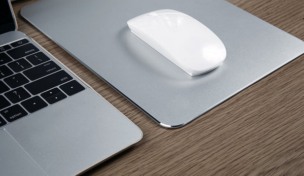 Texet XXL Aluminum Metal Mousepad Anti-Skid Mouse Pad Intensive Gaming Mousepad for MacBook, Laptop, Desktop & Windows PC