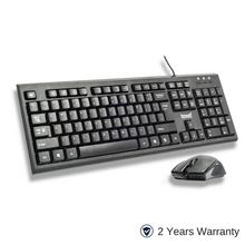 Load image into Gallery viewer, TEXET Wired Keyboard Mouse Combo - TEXET