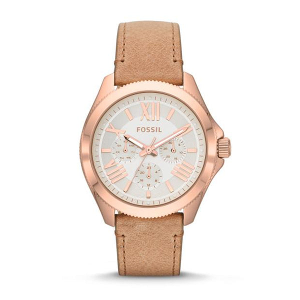 Fossil Analog White Dial Women's Watch AM4532 - TEXET