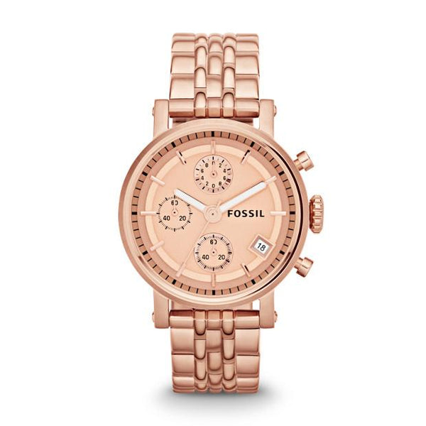 Fossil Analog Brown Dial Unisex Watch ES3380 - TEXET
