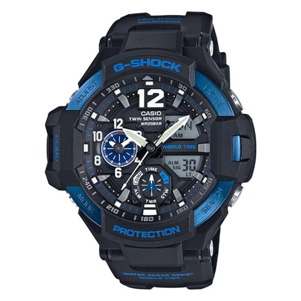 Casio G-Shock GA-1100-2B Master of G Gravity Master Series Men Watch - TEXET