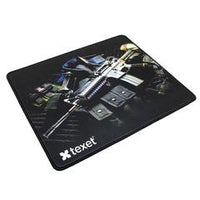 Combo of SHIFT FLAMER Real Mechanical Gaming Keyboard by Texet + TEXET Premium Gaming Mousepad (33 cm x 28 cm) - TEXET