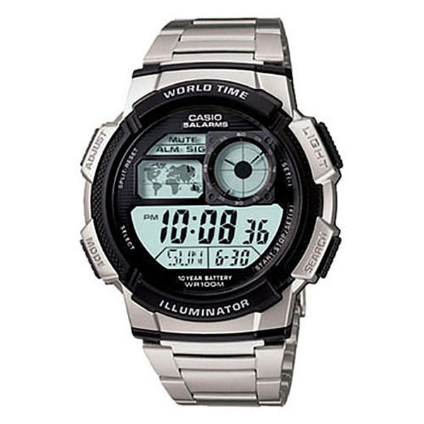 Casio Youth AE1000WD-1AVSDF Digital Sports Watch - TEXET