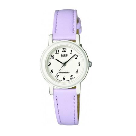 Casio LQ139L-6BEF Lilac Analog Leather Watch - TEXET