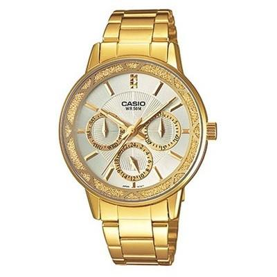 Casio Enticer LTP-2087G-7AVDF Multifunction Steel Watch