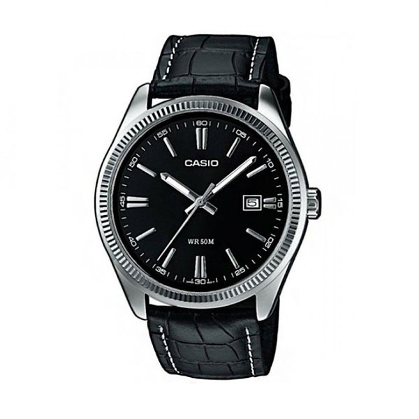 Casio MTP1302L-1AVER Analog Leather Watch - TEXET