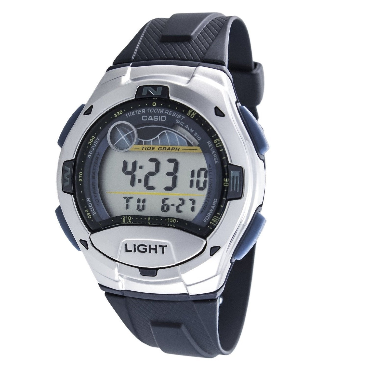 Casio W753-2AVES Digital Chronograph Watch