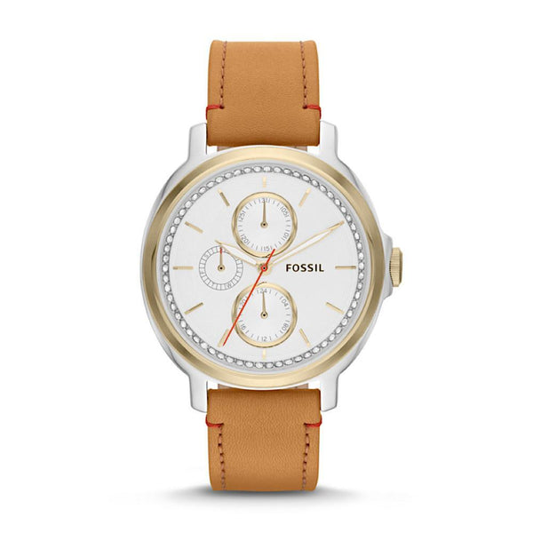 Fossil Chelsey ES3523 Women's Leather Watch - TEXET