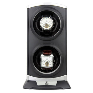 Time Tutelary KA015BLK Dual Watch Winder | Colour - Balck - TEXET