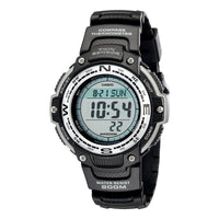 Casio Men's Twin Sensor Digital Black Watch - TEXET