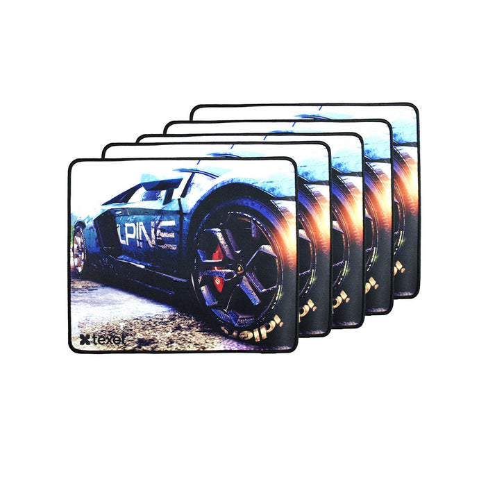 Gaming Mousepad Pack Of 5 - TEXET