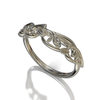 Lotus Flower Wedding Ring
