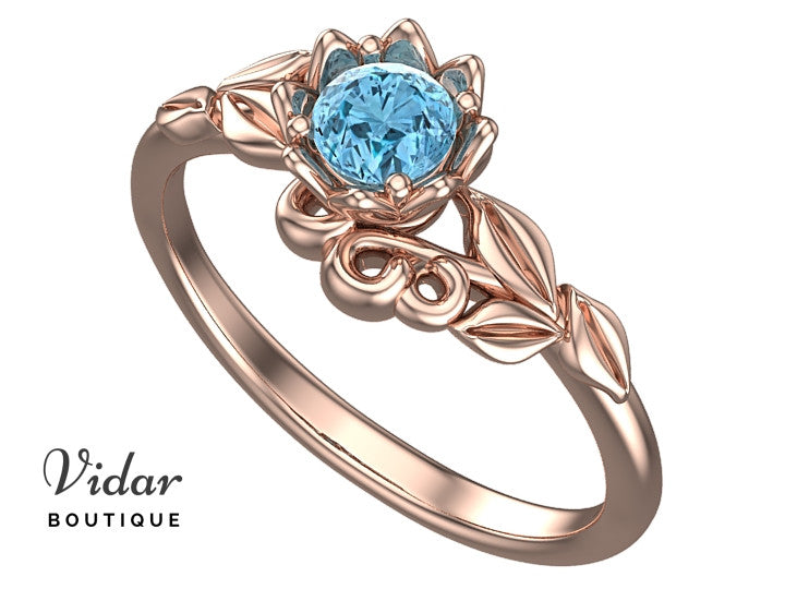 gemstone engagement gold diamond ring rings aqua pid and in aquamarine white