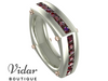 ruby mens wedding bands