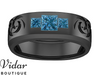 mens blue diamond wedding band