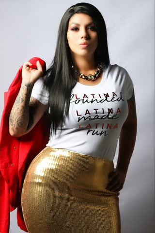 LATINA FOUNDED TEE