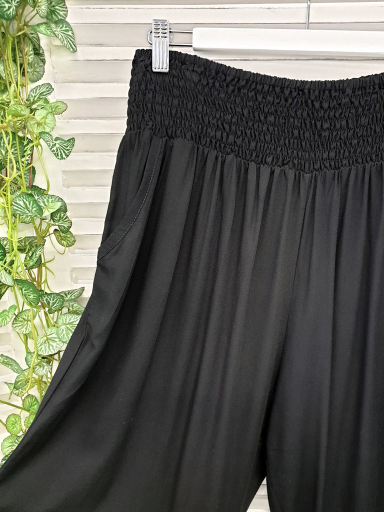 Isla Maree Gigi Pant  - Black - Isla-Maree | Plus Size Clothing NZ