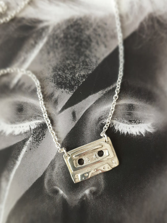 Retro Cassette Tape Necklace
