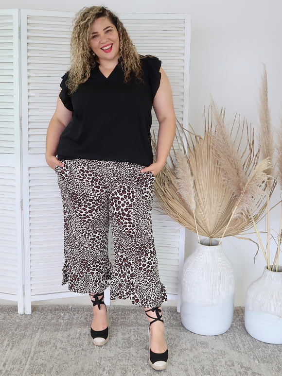 Gigi Pant PRE SALE DELIVERY MID DECEMBER - Cheetah
