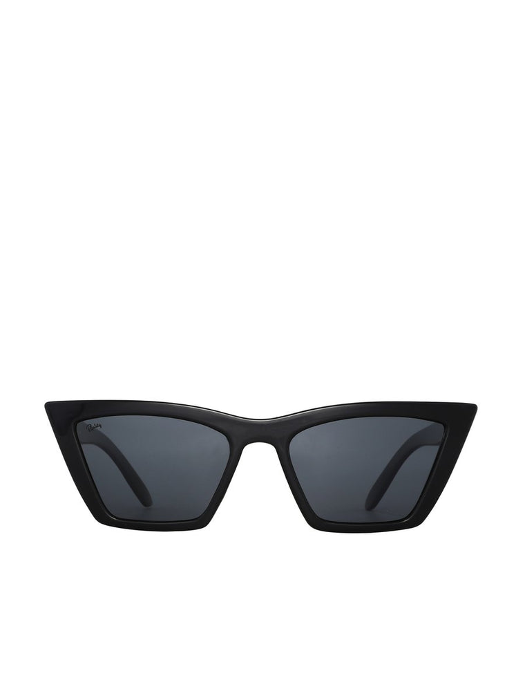 Lizette Reality Sunglasses - Black