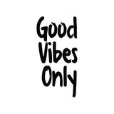 Good Vibes Only Positive Quote Art Print
