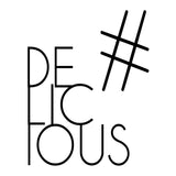 """Hashtag Delicious"" Modern Kitchen Black & White Wall Art"