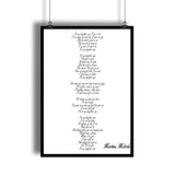 "Martina Mcbride ""In My Daughter's Eyes"" Song Lyrics Wall Decor"