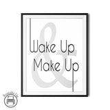 "Sassy ""Wake Up And Wake Up"" Printable Wall Art"