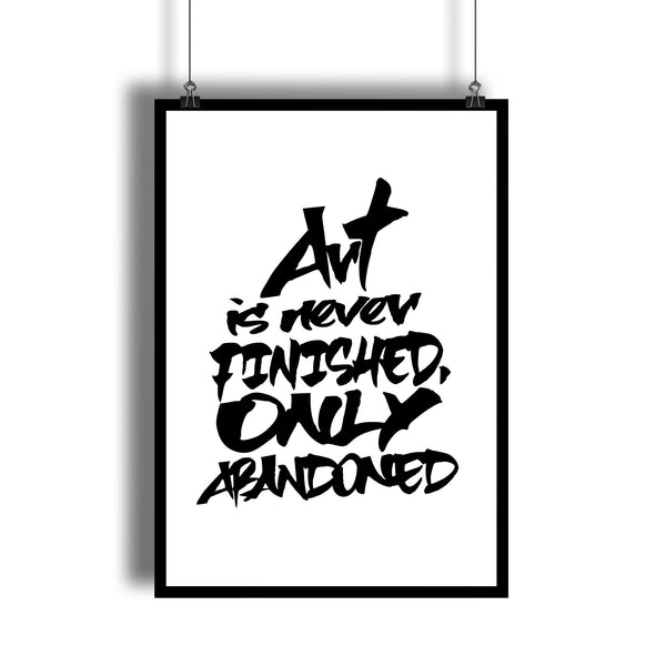 """Abandoned Art"" Wall Decor For An Artist's Studio"