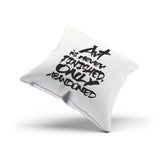 """Abandoned Art"" Decorative Pillowcase for Artists"