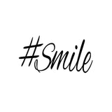 Hashtag Smile Positive Modern Printable Wall Decor