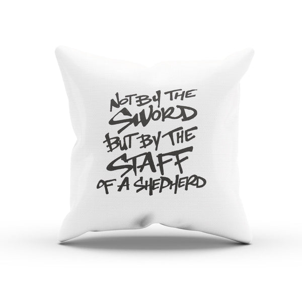 "The Ten Commandments ""Staff of a Shepherd"" Movie Quote Pillow Case"