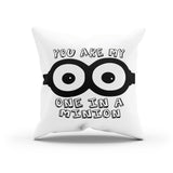 Romantic Minions Canvas Throw Pillow Cover By Raz Naim