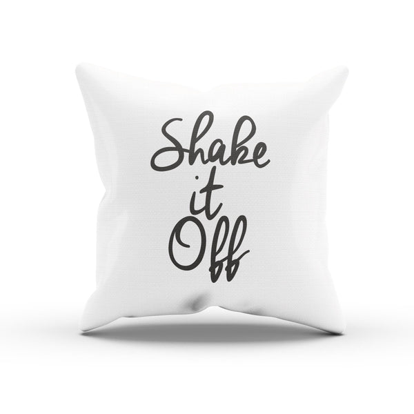 """Shake It Off"" Taylor Swift Song Lyrics Pillow Case For A Swifty"