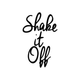 """Shake It Off"" Taylor Swift Song Lyrics Printable Art Print"