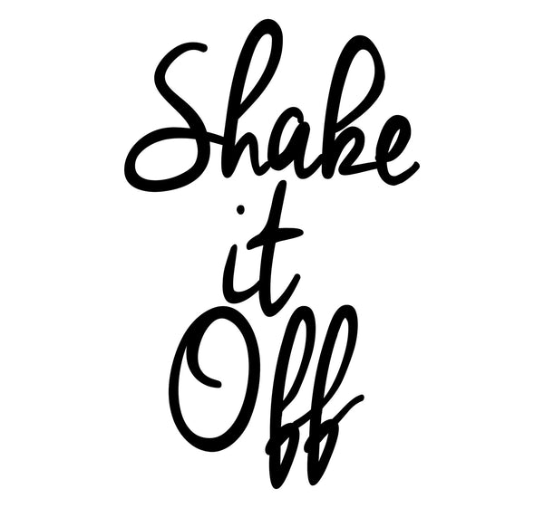 """Shake It Off"" Taylor Swift Lyrics Art Print - DifferenType"