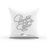 "Inspirational Quote ""Shoulder The Storm"" Throw Pillow Case"