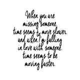 "Taylor Swift Song Lyrics ""When In Love"" Calligraphy Printable Wall Decor"