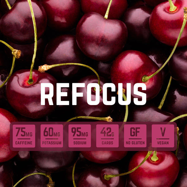 Refocus - Natural Energy Chews with Caffeine | Veloforte