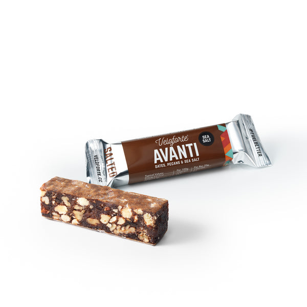 Veloforte Avanti bar | Gluten free 100% vegan energy bar