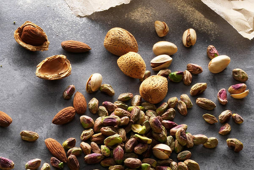 Healthy nuts for crossfit nutrition