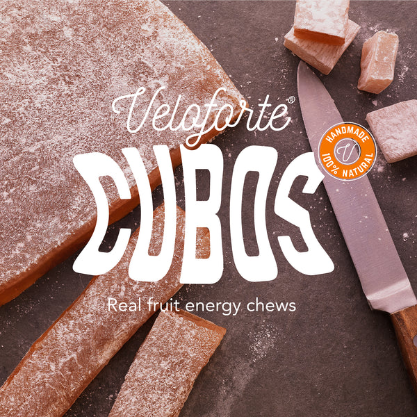 Veloforte Cubos - Natural Energy Chews with Electrolytes