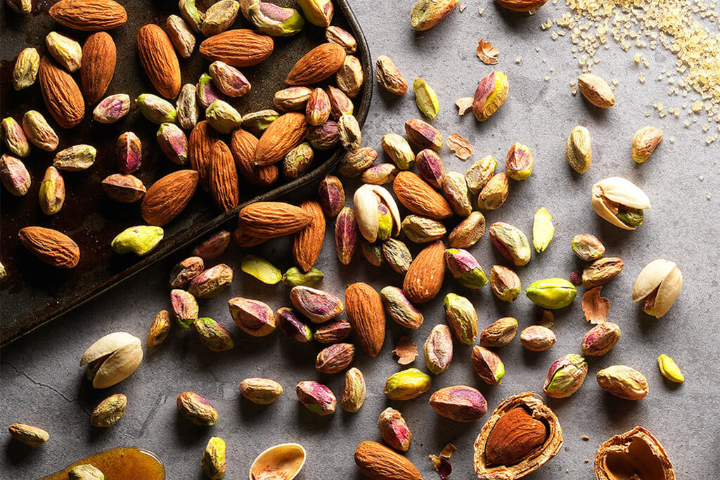 Nuts for energy snack