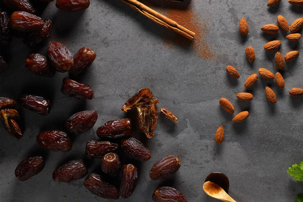 Dried fruit for energy