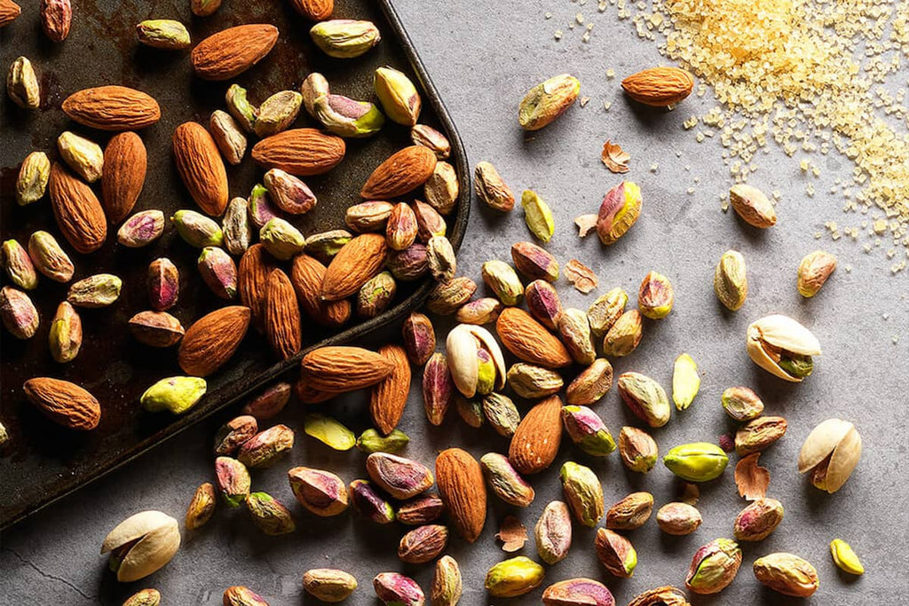 Nuts for hiking nutrition