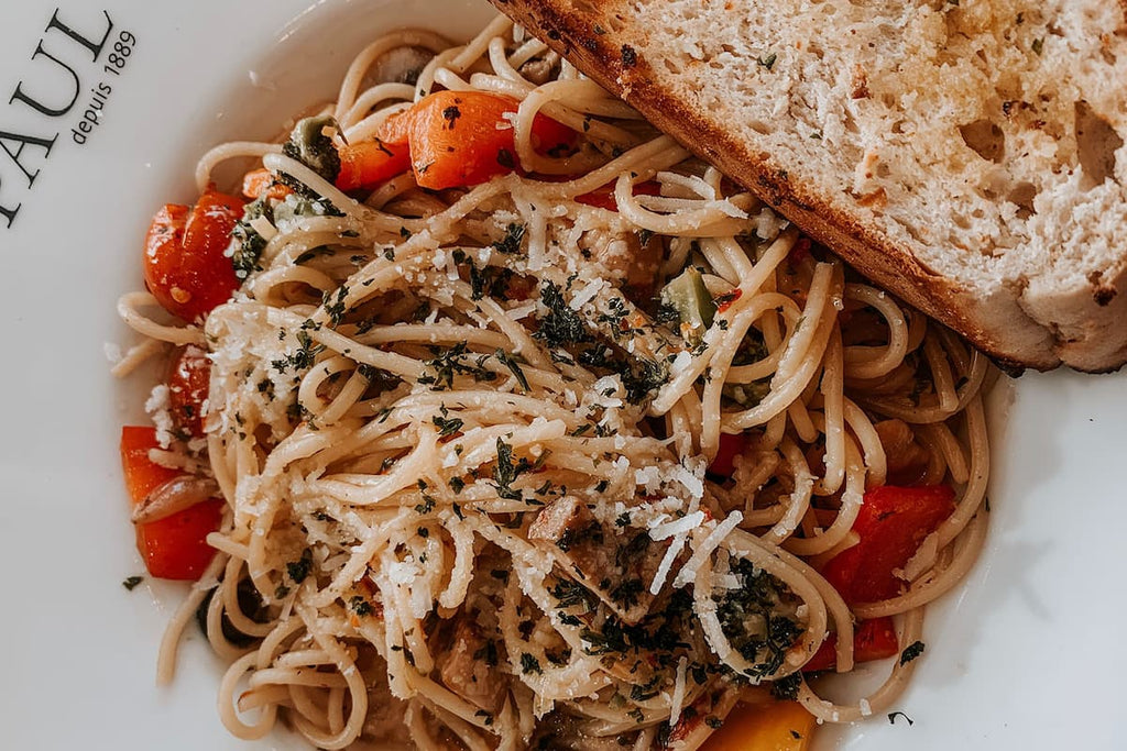 Pasta carbs before or after a hike