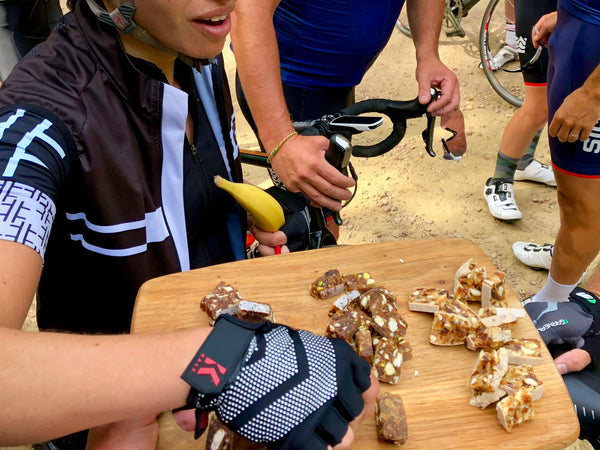 Cyclists are trying Veloforte energy bars