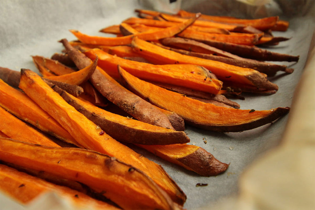 Sweet potatoes for swimming nutrition
